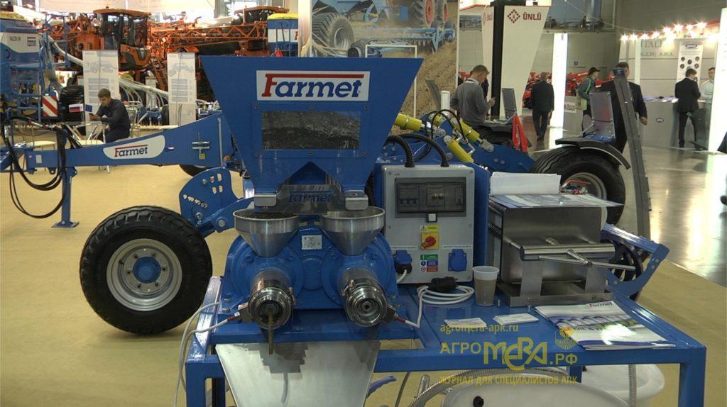 Farmet-разработка,производство, продажа и обслуживание с/х техники. Агросалон 2018 + видео журнал АгроМЕРА
