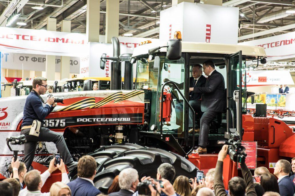 За 3 дня работы 23-го Агропромышленного форума юга России  его посетили 10 152 человека
